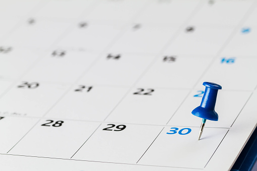 30 Day Planning